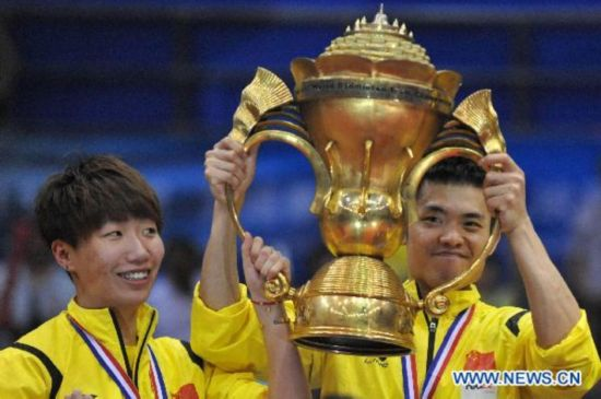 China claims champion of 2011 Sudirman Cup
