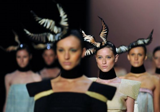 Hats highlight Rio Fashion Week