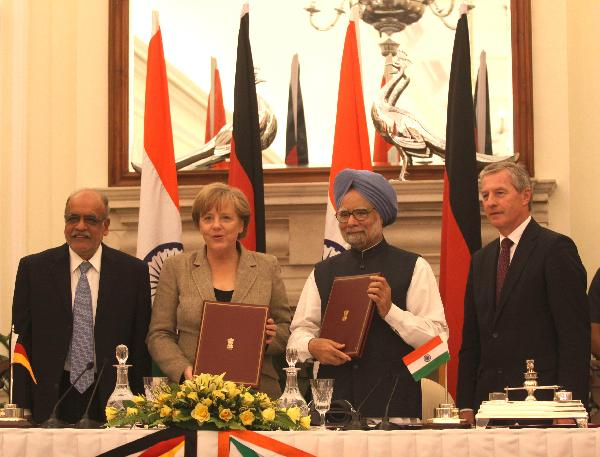 India, Germany sign four pacts