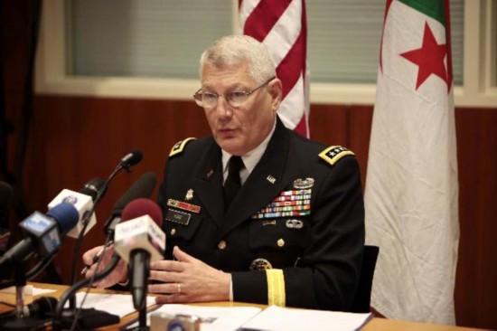 AFRICOM Commander disproves report on mercenaries sent by Algeria in Libya