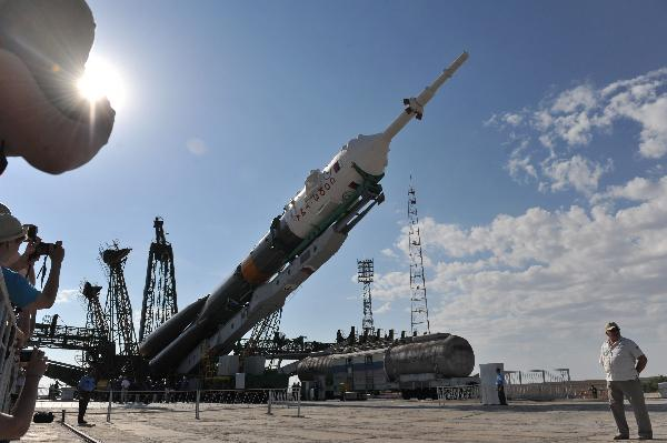 Russia's Soyuz spacecraft ready for launch to ISS