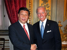 VP says China to keep development momentum of China-U.S. ties