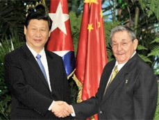 VP pledges efforts to advance China-Cuban cooperation