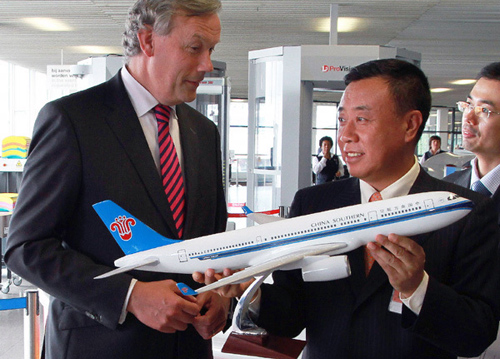 Guangzhou launches first non-stop flight to Amsterdam