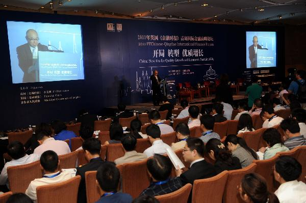 2011 FTChinese-Qingdao Int'l Finance Forum held in Qingdao