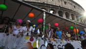 Europride Parade held in Rome