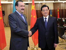 Chinese president meets with Kazakh prime minister