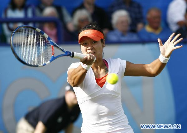 Li Na beats Tamira Paszek 2-0 at AEGON international