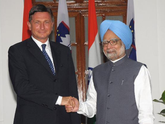 Slovenian PM visits India