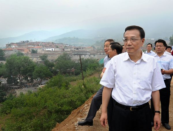 China's vice premier stresses redevelopment of run-down area
