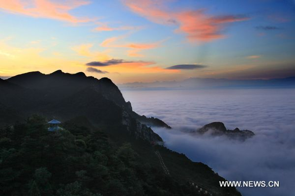 Beautiful scenery of Lushan Mountain