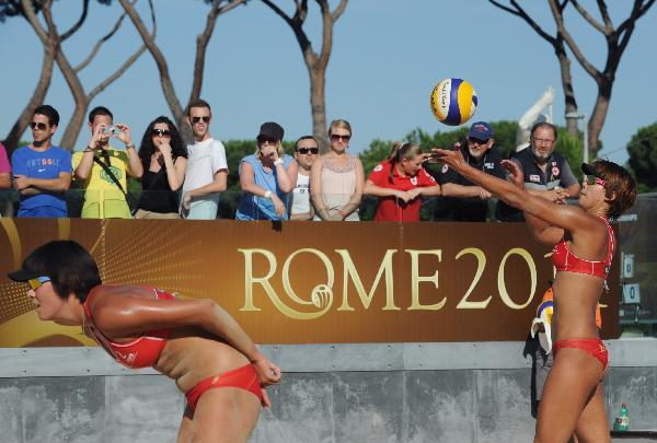 Chinese players enter semifinal of 2011 FIVB Beach Volleyball World Championships