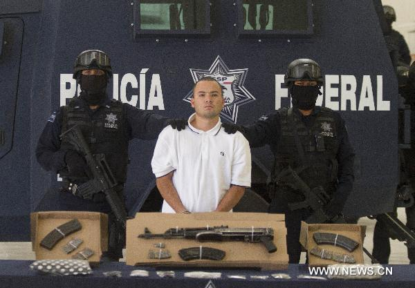 Mexican massacre suspect arrested