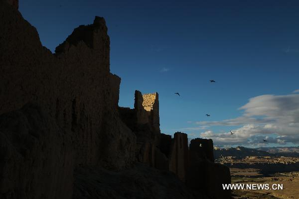 Ruins of Guge Kingdom in Tibet