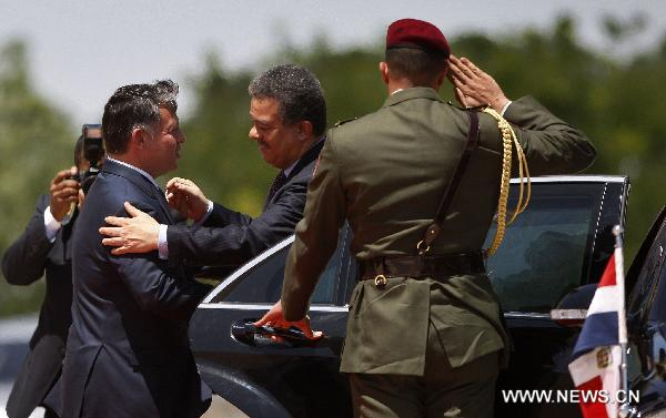 Dominican President vists Jordan