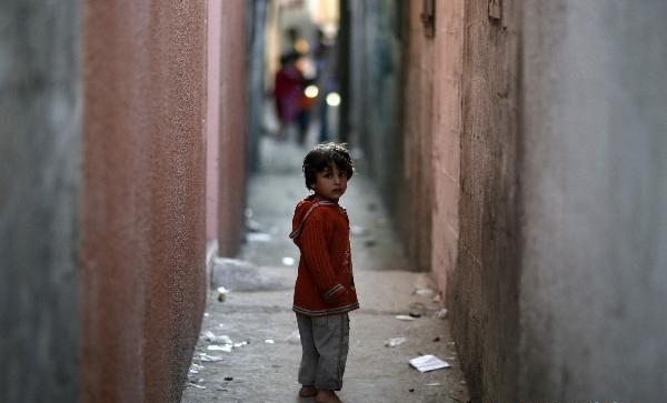 World Refugee Day: Palestinian kids in refugee camp