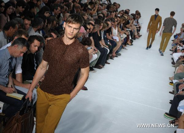 Z Zegna's collection at Milan Fashion Week
