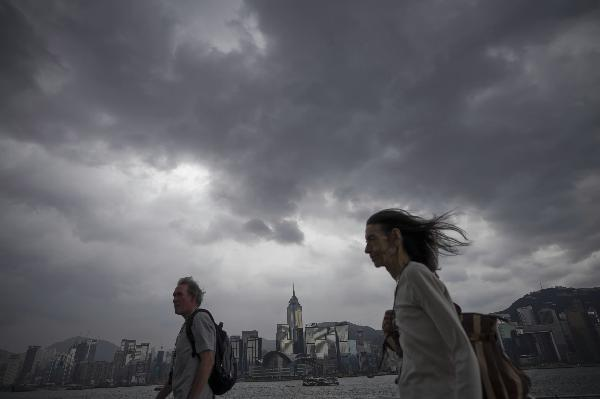 HK issues tropical storm warning