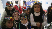 Chilean kids celebrate National Day of Indigenous People