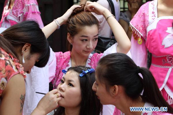 Regional final of Miss Int'l China held in Hubei Province