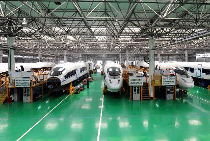 TRC made new CRH380BL trains serve as main force on Beijing-Shanghai high-speed railway