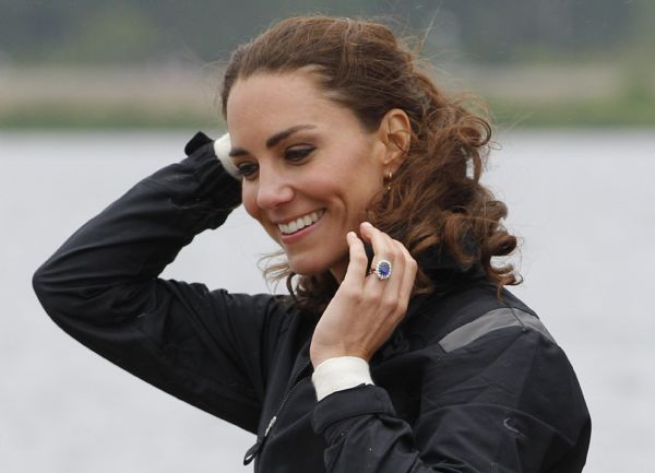 British Prince William, Princess Kate compete in dragon boat race in Canada