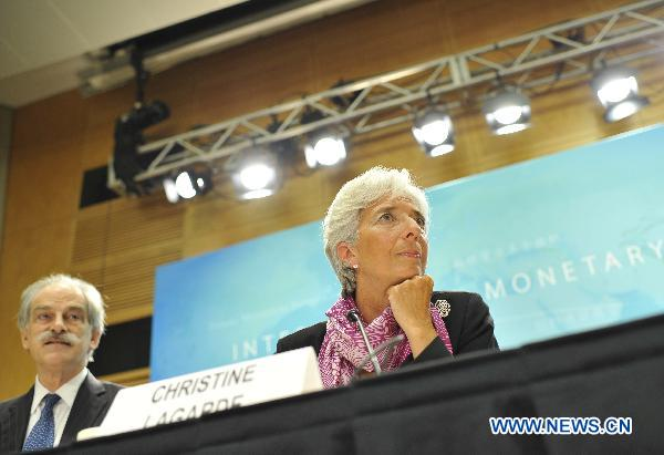 Sovereign debt challenge broader than in euro area: IMF chief