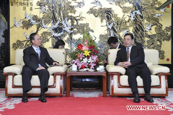Xinhua vice president meets with ROK ambassador to China