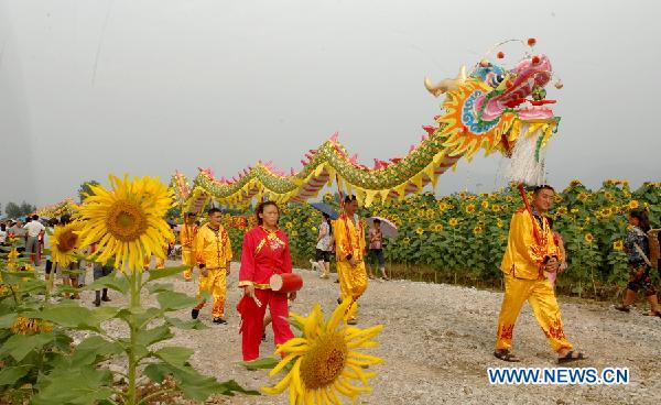 Sunflower festival kicks off in Sichuan, SW China