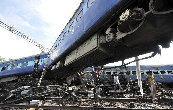 Death toll from train derailing in N India rises to 63