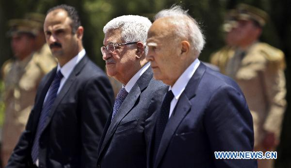 Greek president arrives in Palestine for official visit