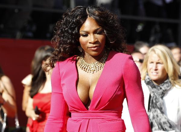 Sports stars arrive for 2011 ESPY Awards