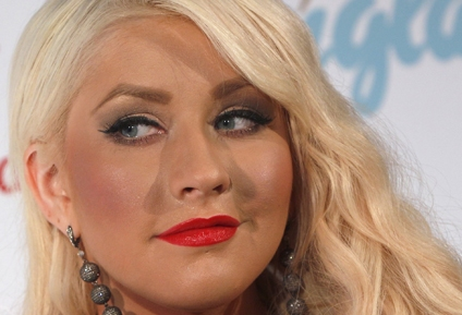 Christina Aguilera promotes perfume collection in Munich