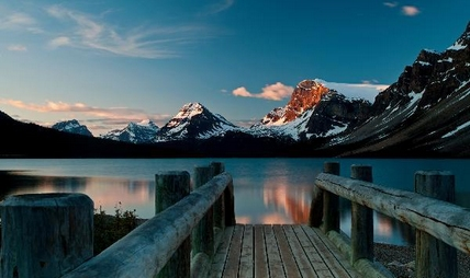 Picturesque scenery of Canadian Rockies
