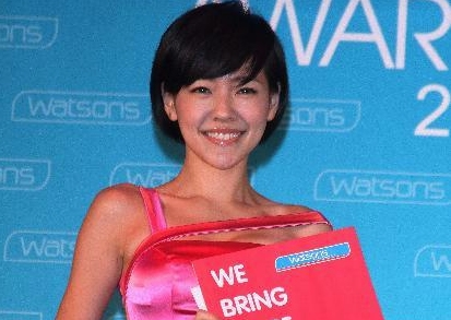 Dee Hsu attends Watsons You Awards press conference