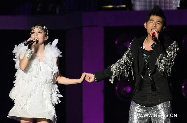 Jay Chou holds solo vocal concert in E. China's Nantong