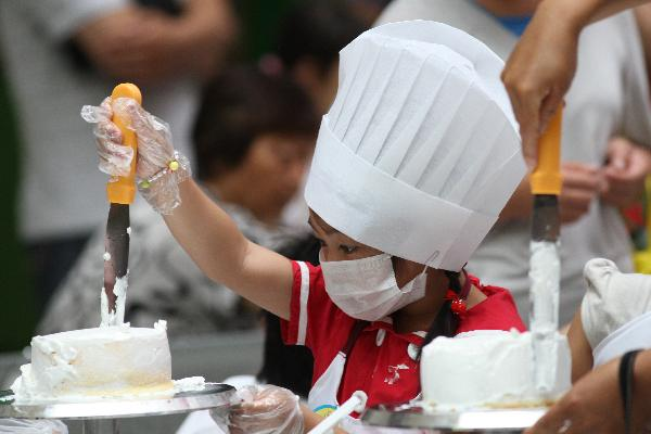 "DIY activity named ""I am a Little Patissiere"" held in Yantai, China's Shandong"