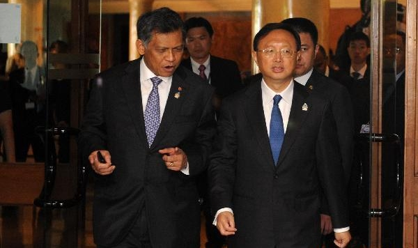 Chinese FM attends ASEAN+3 foreign ministers' meeting
