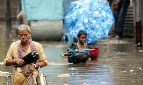 Heavy rainfall floods India's Patna