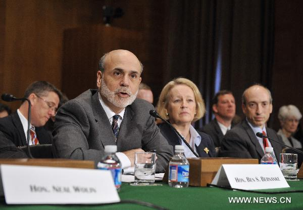 U.S. recovery from crisis far from complete: Bernanke