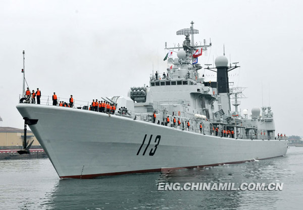 """Qingdao"" warship resumes role as ""diplomatic star"""