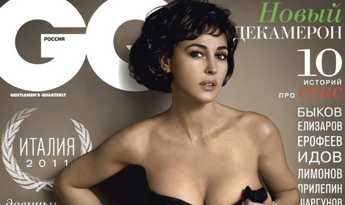 Monica Bellucci graces GQ Russia