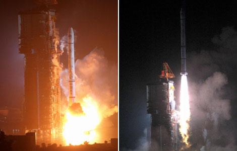 China launches 9th orbiter for global navigation