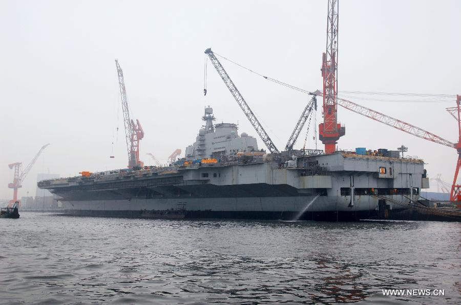 In pictures: aircraft carrier body refitted for research, training