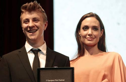Angelina Jolie honored at Sarajevo film festival