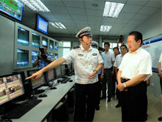 China's top security official checks facilities of Universiade 2011