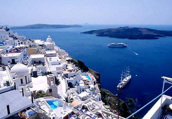 The romantic myth of the Aegean 
