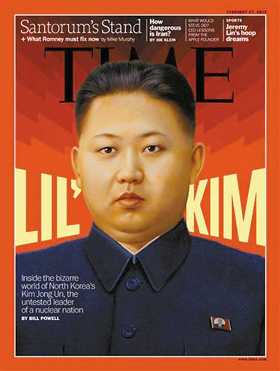 Dprk Leader Kim Jong Un On Time Cover People S Daily Online