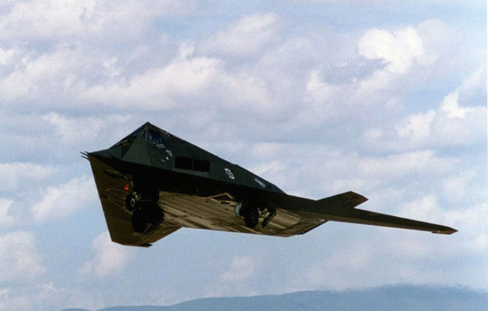 The Lockheed F-117 Nighthawk was a single-seat, twin-engine stealth ground-attack aircraft formerly operated by the United States Air Force (USAF). (Source: xinhuanet.com)