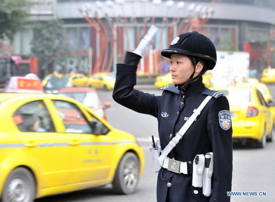 Female Beijing Armed Police Corps Unit | Chinese Military